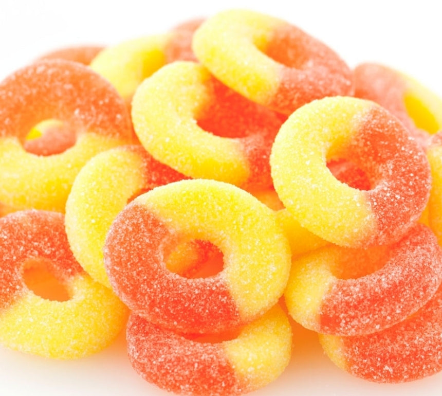 Kula Peach Rings - Kula Hawai'i - maui candy