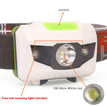 Load image into Gallery viewer, AloneFire HP30 4Mode lightweight Waterproof Headlight CREE LED