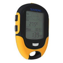Load image into Gallery viewer, Waterproof FR500 Multifunction LCD Digital Altimeter Barometer Compass
