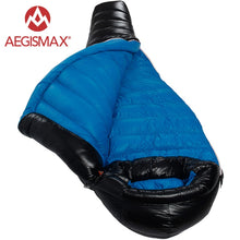 Load image into Gallery viewer, AEGISMAX Camping Ultralight Mummy 90% Duck Down Sleeping Bag