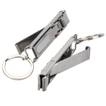 Load image into Gallery viewer, EDC Keychain Stainless Hand Toe Nail Clippers