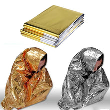 Load image into Gallery viewer, Survival Waterproof Emergency  Foil Thermal Rescue Blanket