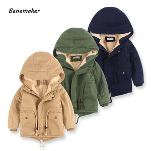 Benemaker Children Winter Outdoor Fleece Jackets