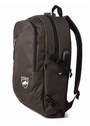 Krhino Smart Lock Bulletproof Backpack *Black - Krhino Ballistic Backpack