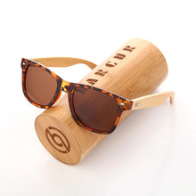 Load image into Gallery viewer, Bamboo Sunglasses - MAROON SCARF - men's clothing