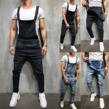 Load image into Gallery viewer, Jeans Jumpsuit - MAROON SCARF - men's clothing
