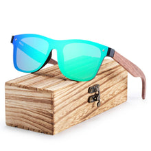 Load image into Gallery viewer, Walnut Wood Sunglasses