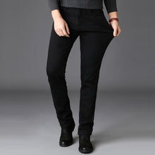 Load image into Gallery viewer, Straight Black Jeans