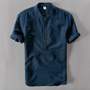 Linen Summer Shirt (3 buttons)