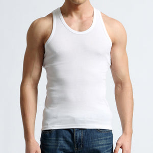 Tank Top - MAROON SCARF - men's clothing