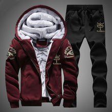 Load image into Gallery viewer, Winter Track Suit - MAROON SCARF - men's clothing