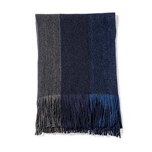 Three-Color Design Scarf