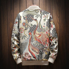 Load image into Gallery viewer, Japanese Embroidery Bomber