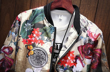 Load image into Gallery viewer, Japanese-style Bomber - MAROON SCARF - men's clothing