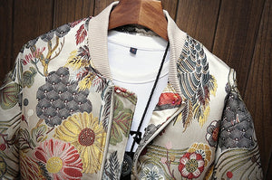 Japanese Embroidery Bomber