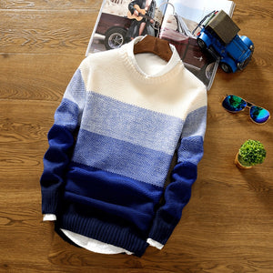 Gradient Striped Sweater