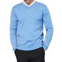 Load image into Gallery viewer, Knitted V-Collar Pullover, 14 colors