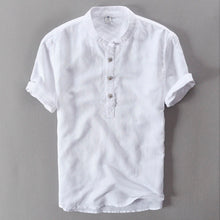 Load image into Gallery viewer, Linen Summer Shirt (3 buttons)