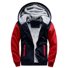 Load image into Gallery viewer, Warm hooded jacket
