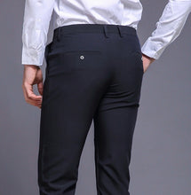 Load image into Gallery viewer, Classic Skinny Fit Trousers