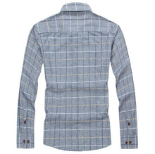 Load image into Gallery viewer, Long Sleeve Plaid Shirt