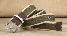 Load image into Gallery viewer, Military Canvas Belt