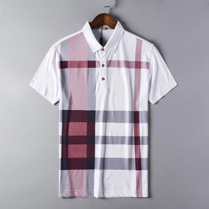 Plaid Polo Shirt