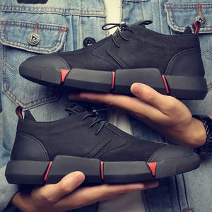 Panther Leather Sneakers