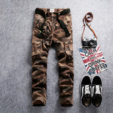 Load image into Gallery viewer, Military Cargo Pants