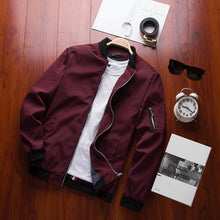 Load image into Gallery viewer, Modern Bomber Jacket