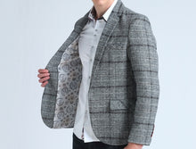 Load image into Gallery viewer, Checkered Casual Blazer
