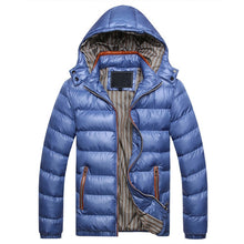 Load image into Gallery viewer, Hooded Winter Jacket