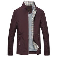 Load image into Gallery viewer, Slim Fitted Spring Jacket - MAROON SCARF - men's clothing