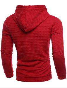 Sweatshirt Hoodie - MAROON SCARF - men's clothing