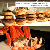 Café on M Crab & Foie Gras Lunch Buffet for 4 - icgs-eshop