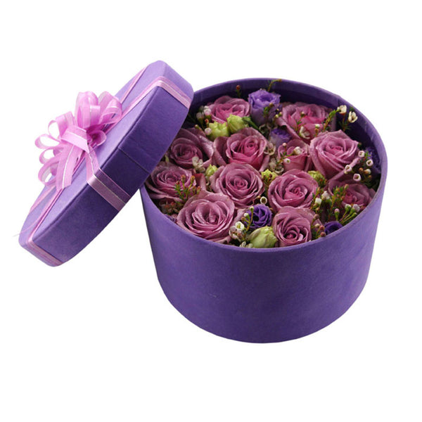 Purple Roses Box - icgs-eshop
