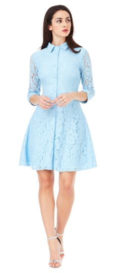 Shirt lace Dress