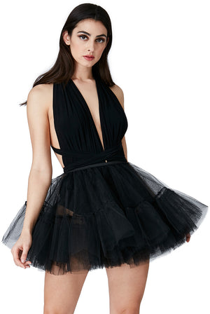 Tulle Pull on Skater Skirt