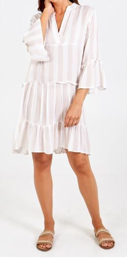 Stripe tunic dress