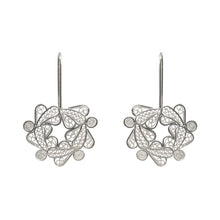 Load image into Gallery viewer, Botanical Wreath Filigree Earrings