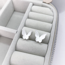 Polished Small Butterfly Studs Earrings
