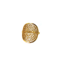 Load image into Gallery viewer, Sol Filigree Ring -Gold Plated-