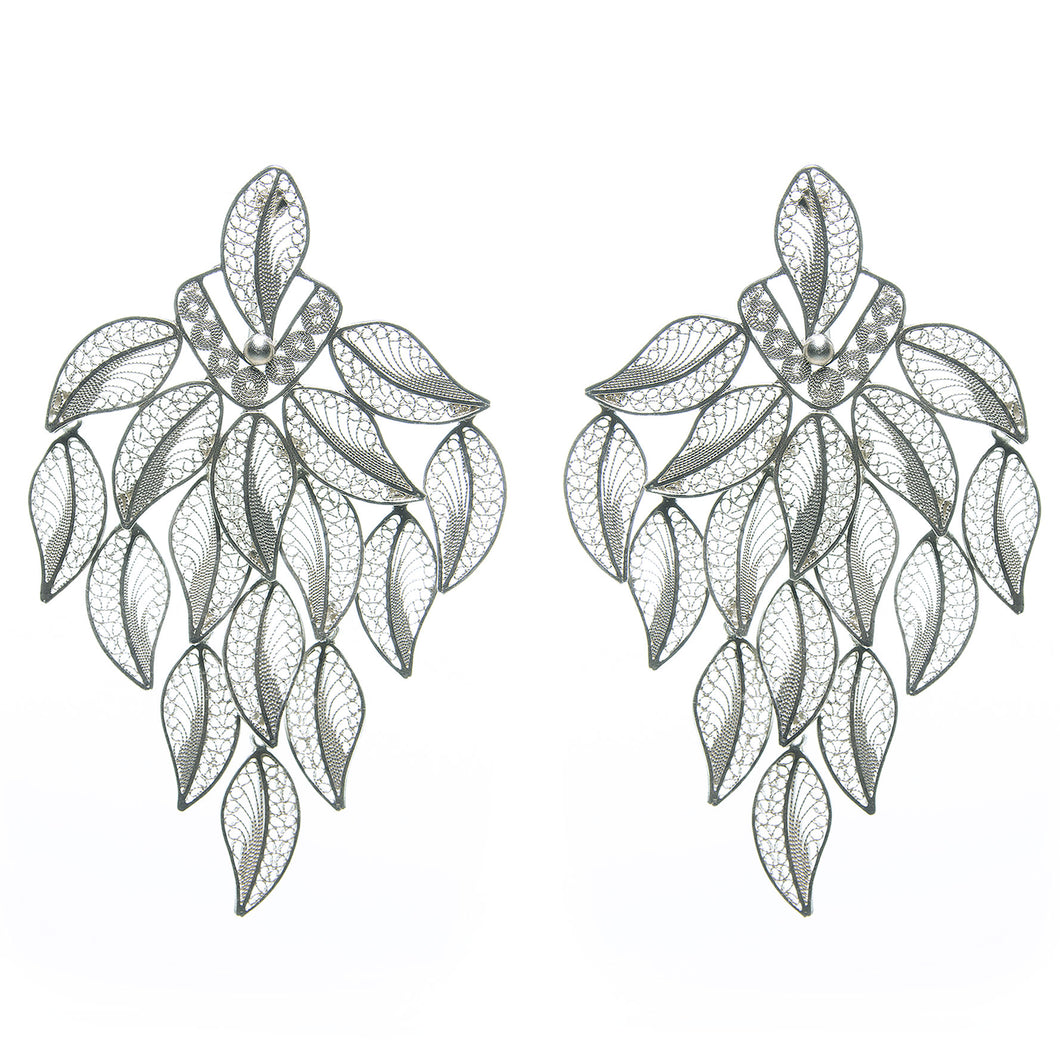 Leaves Cascade Earrings