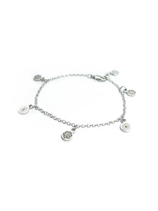 Small charms Filigree Bracelet