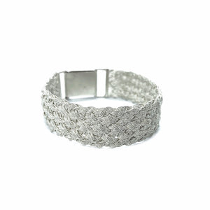 Silver Threads Filigree Bracelet