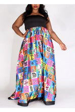 Load image into Gallery viewer, I Know My ABC's Plus Size Maxi Dress - 1uniqueboutiques