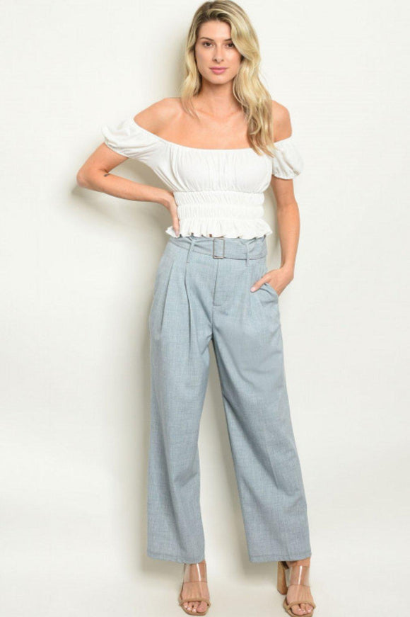 Caroline Pleated Trouser - 1uniqueboutiques