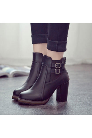 Courtney Short Ankle Boots - 1uniqueboutiques