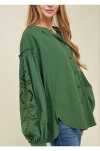 Bella Oversized Top - 1uniqueboutiques