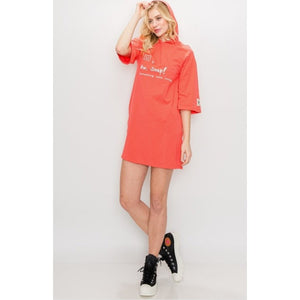 Aw, Snap Hoodie Shirt Dress - 1uniqueboutiques